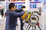 Отверстие трубопровода режущей машины, земляные работы машины, кружок Сверление сквозного отверстия машины Jk150