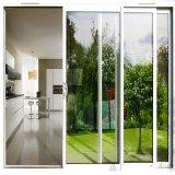 Nouvelle conception de Low-E Triple porte coulissante en verre avec des couleurs personnalisées