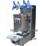 Máquina plástica automática pequena da selagem do copo
