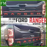 아BS Ford Ranger T6 T7 2012+를 위한 플라스틱 뒷문 문턱 격판덮개