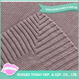 中国の屋外の子供の綿編む旅行冬熱くする毛布
