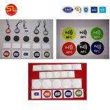 Precio al por mayor rollo de etiquetas NFC Sticker adhesivo de RFID para seguimiento de activos y logística