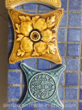 特別な装飾および様式のための陶磁器のモザイク・タイルを手作りしなさい!