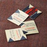 La venta al por mayor imprimió la escritura de la etiqueta tejida las escrituras de la etiqueta de la ropa de la ropa