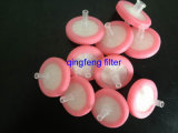 使い捨て可能な中国親水性PTFEのスポイトフィルター