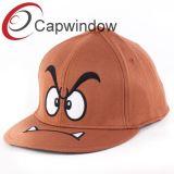 100% хлопок поощрения 6 панели Snapback Red Hat с Super Мэри плоский вышивка