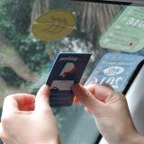 860-960MHz etiqueta inalterable del estacionamiento del parabrisas de la frecuencia ultraelevada RFID