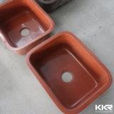 Dispersori di cucina di superficie solidi acrilici bianchi puri di Undermount