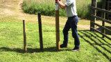 2 poignée de course post pile driver marteau comme outils de jardin