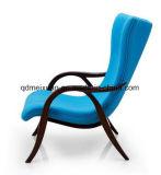 Cadeira nórdica do sofá da cadeira da assinatura, sofá da arte de pano da madeira contínua da cadeira do lazer (M-X3746)