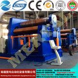 Rullo della lamina di metallo della macchina piegatubi/CNC del rullo del piatto d'acciaio W12