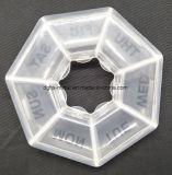 Rectángulo plástico del envase de almacenaje de la alta calidad caliente de la venta (HS669)