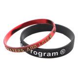 Melhor Amigo braceletes, Pop-Outs Bangle, estampadas feitas pulseira de Silicone