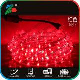 Round 2 fil lampe horizontale 11mm LED feux de corde pour Noël