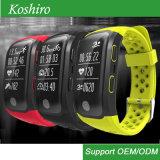 Monitor da frequência cardíaca 16 horas de faixa esperta do esporte de ECG GPS Bluetooth