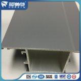 SGS revidierte hellgraue Puder-Beschichtung-Aluminiumprofil für Fenster/Tür