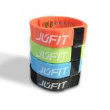 IOS、人間の特徴をもつBluetooth4.0 (JFA001B)のためのJufitの防水スマートなブレスレットかスマートなバンド