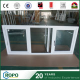 Pvc Double vitrage des fenêtres à battants d'impact de l'ouragan
