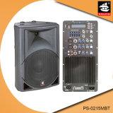 15 Spreker pS-0215mbt van de PA van de Echo van Bluetooth EQ van de FM van de duim 250W USB BR de Plastic Actieve