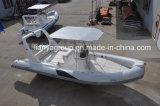 Liya Hot Sale 6,6 m bateau gonflable nervure Sport bateau en fibre de verre