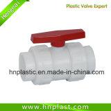 Plastc PVDF 소켓 두 배 조합 공 벨브
