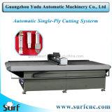 Máquina para o cortador automático da tela de matéria têxtil