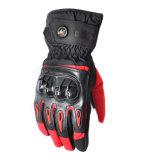 Motocicleta a prueba de viento impermeable de la pantalla táctil del invierno de Fgv028lrd que compite con guantes del deporte