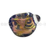 Il cucchiaio di vetro del tabacco convoglia il tubo di acqua di vetro (ES-HP-344)