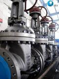 La hausse de la tige en acier moulé renouvelables de la vanne de filtre en coin à embase de siège