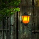 Le scintillement de la flamme mur solaire light 96 LED lumière décorative sublime de plein air pour le jardin patio Yard