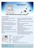 Analizzatore biochimico di Pieno-Automazione con il prezzo poco costoso Mslba23A