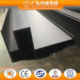 Black Anodized 6063 T5 Extrude Aluminum Profiles