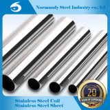 201/304 tube d'acier inoxydable pour la construction