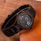 호화스러운 사업 작풍 다이아몬드 상자 석영 남성 손목 시계