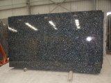 Populäre blaue Perlen-Granit-Fliesen für die Pflasterung und Wand