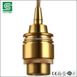 Dispositivos ligeros pendientes de lámpara de Colshine de la vendimia de aluminio del socket