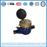 Счетчик воды двигателя латунной сухой шкалы b типа Multi (DN15-DN40)
