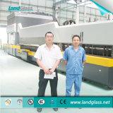 Landglass CER bescheinigte Ebene/gebogenen Glasabhärtung-Produktionszweig