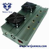 hohe Leistung 45W Innen-Handy-Hemmer G-/MCDMA 3G 4G (100m abschirmenreichweite)