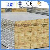 Modulares Haus verwendeter Wand-Typ Felsen-Wolle-Faser-Zwischenlage-Panel