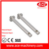 CNC Drehen des Metallpole-Teils