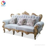 Hly Luxury Gold Wedding Sofa Royal Chair Chaise Longue for Banquet