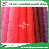 PP Spunbond Nonwoven Fabric, rollo de materias primas