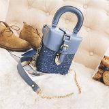 Последнюю версию надстройки Sequin цепь Messenger плечо Lady Bag PU женщин дамской сумочке