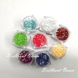 Diferentes tamanhos misturados Candy Color cintilantes Nail Art cintilante decoração de peças