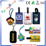 Promotional Giftsのための3D Cartoon Custom PVC Rubber Luggage Tag