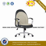 現代オフィス用家具の旋回装置の革執行部の椅子(NS-8049A)