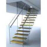 Projeto interno das escadas/escadaria de flutuação/escadas de madeira