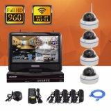 960p IR LED Installationssätze der Netz-Kamera-drahtlose Ausgangs-IP-Kamera-4CH NVR