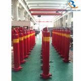 La fabbrica fornisce 3/4/5 di cilindro idraulico della fase per il camion della benna